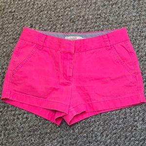 J. Crew pink shorts sz 6